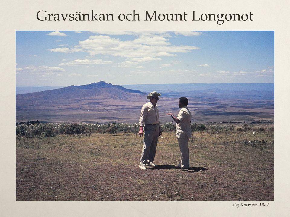 Gravsänkan och Mount Longonot Caj Kortman 1982