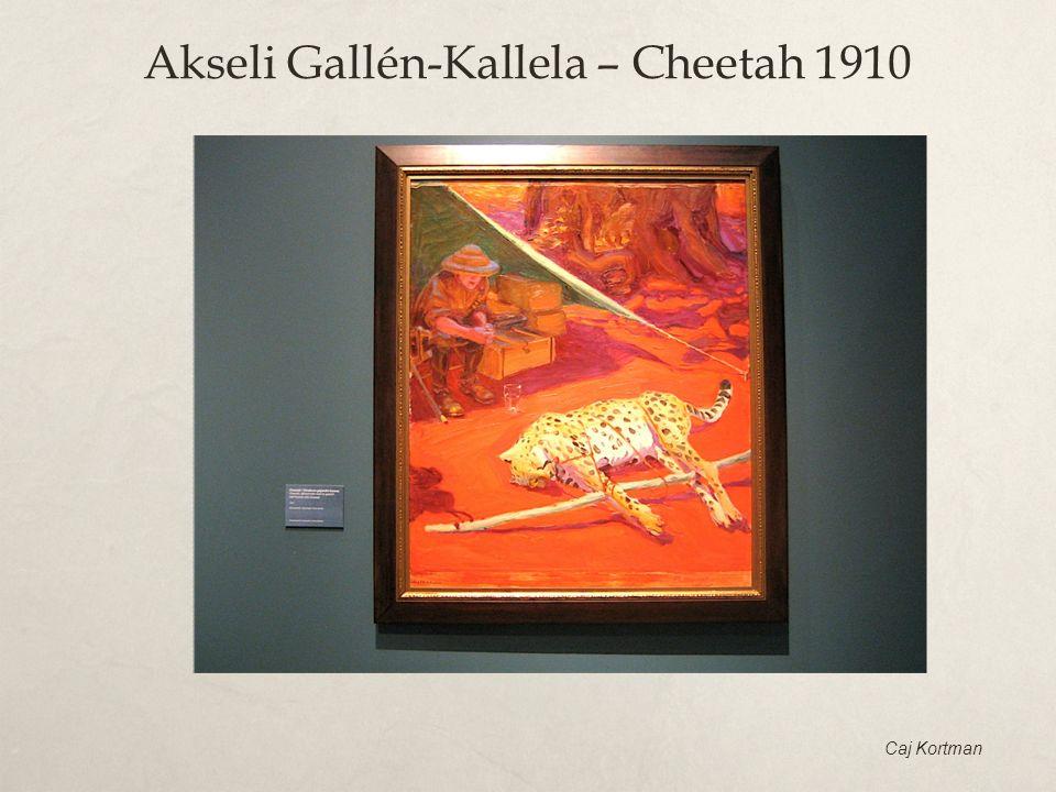 Akseli Gallén-Kallela – Cheetah 1910 Caj Kortman