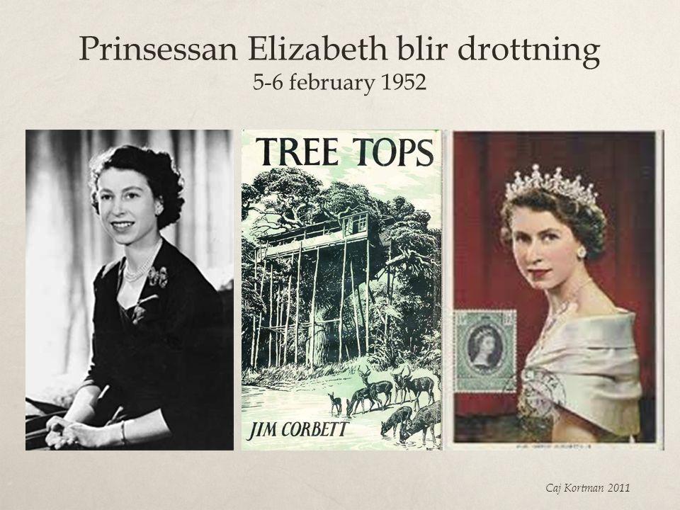 Prinsessan Elizabeth blir drottning 5-6 february 1952 Caj Kortman 2011