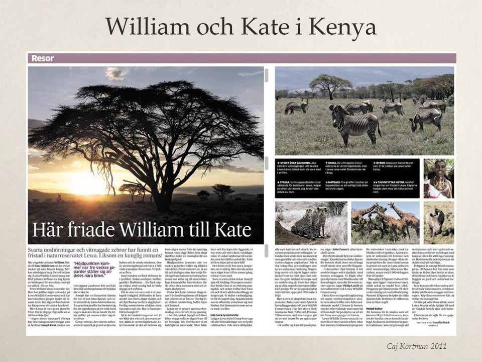 William och Kate i Kenya Caj Kortman 2011