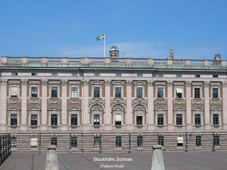 Stockholm, Schloss (Palacio Real )