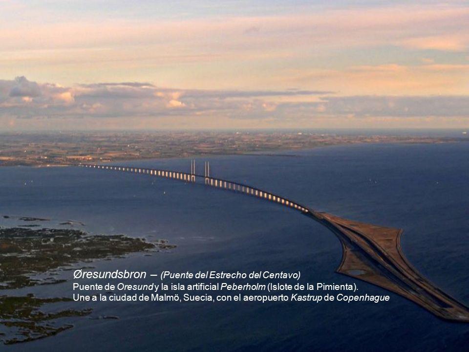 Øresundsbron (Puente de Oresund)