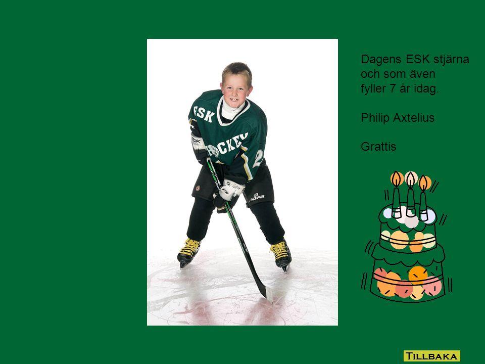 Dagens ESK stjärna August Sandell Tillbaka