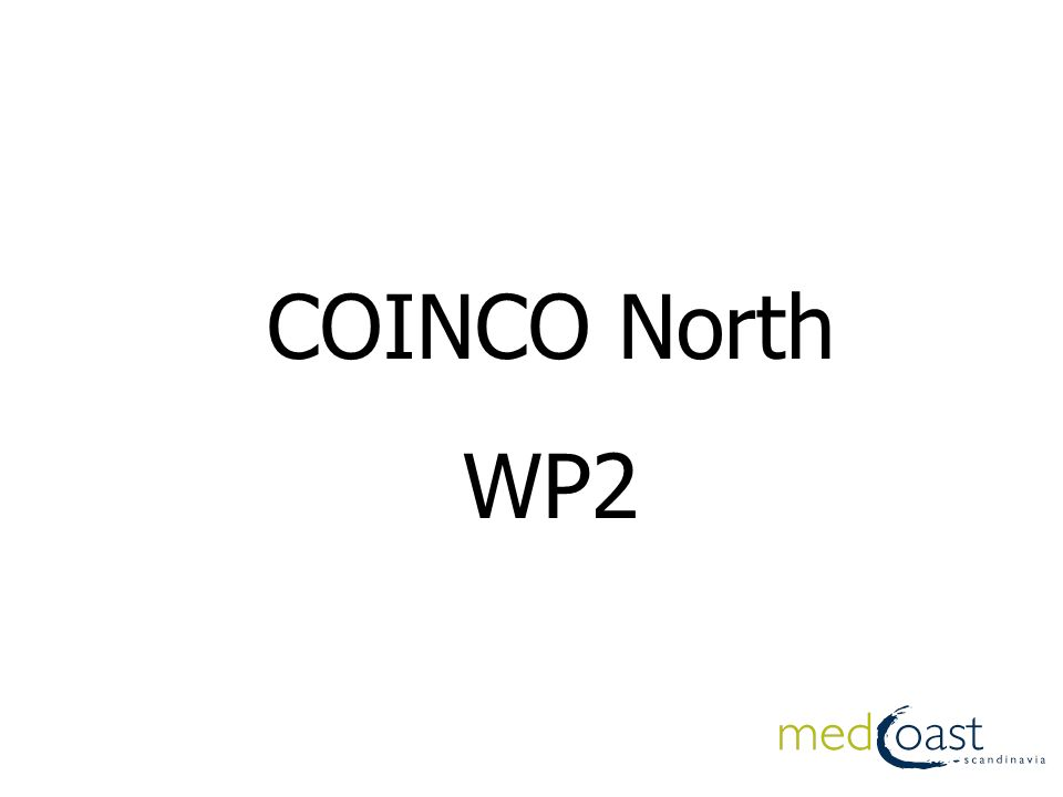 COINCO North WP2