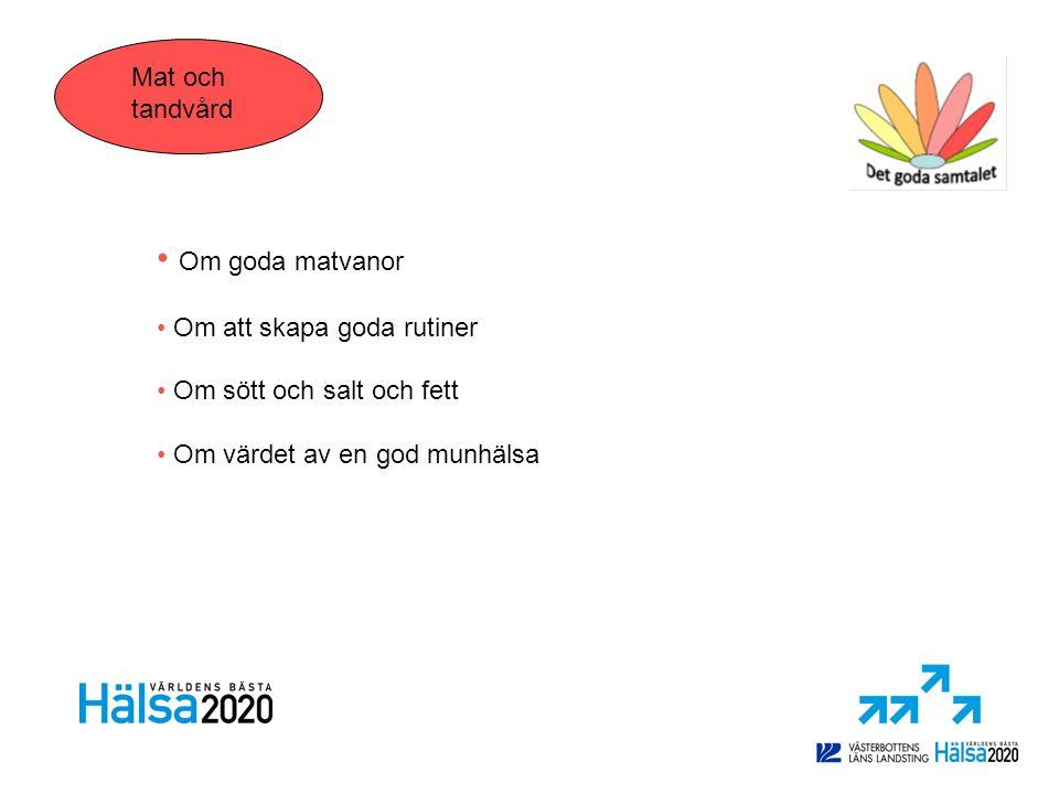 Hälsokommunikatörer Umeåregionens flyktingmottagning En fortbildning för samhällskommunikatörer Utbildningen omfattar 16 timmar uppdelat på fyra tillfällen: Så fungerar vården i Sverige Migrationsprocess och barnens hälsa Hälsa och livsstil Migrationsprocessen och sexuell hälsa Hälsa och livsstil VHU, Tobaksfri duo och Salutsatsningen Det kan du göra för att ta hand om din hälsa - levnadsvanor Psykisk hälsa - dagsrutiner, sömn, stress och kriser Det goda samtalet – att prata om levnadsvanor