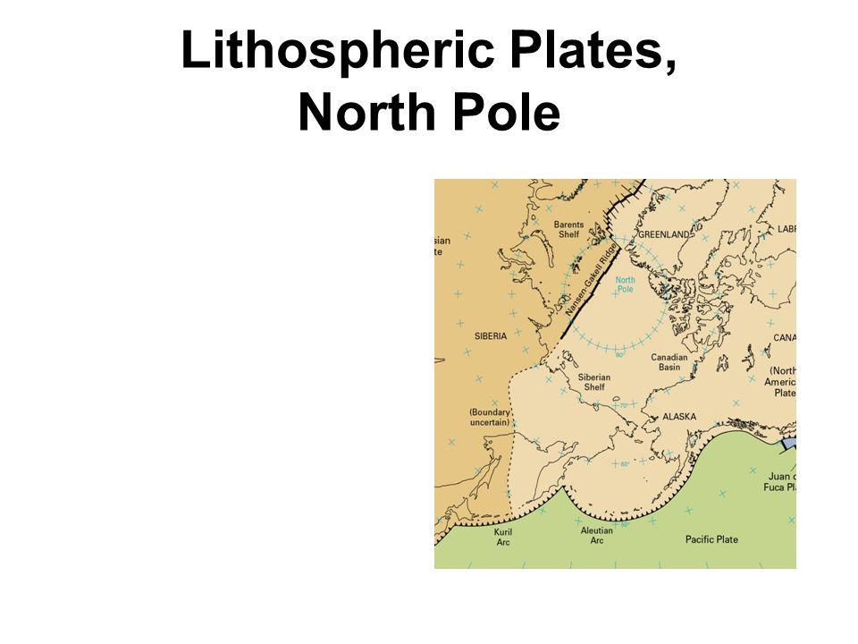 Lithospheric Plates, North Pole
