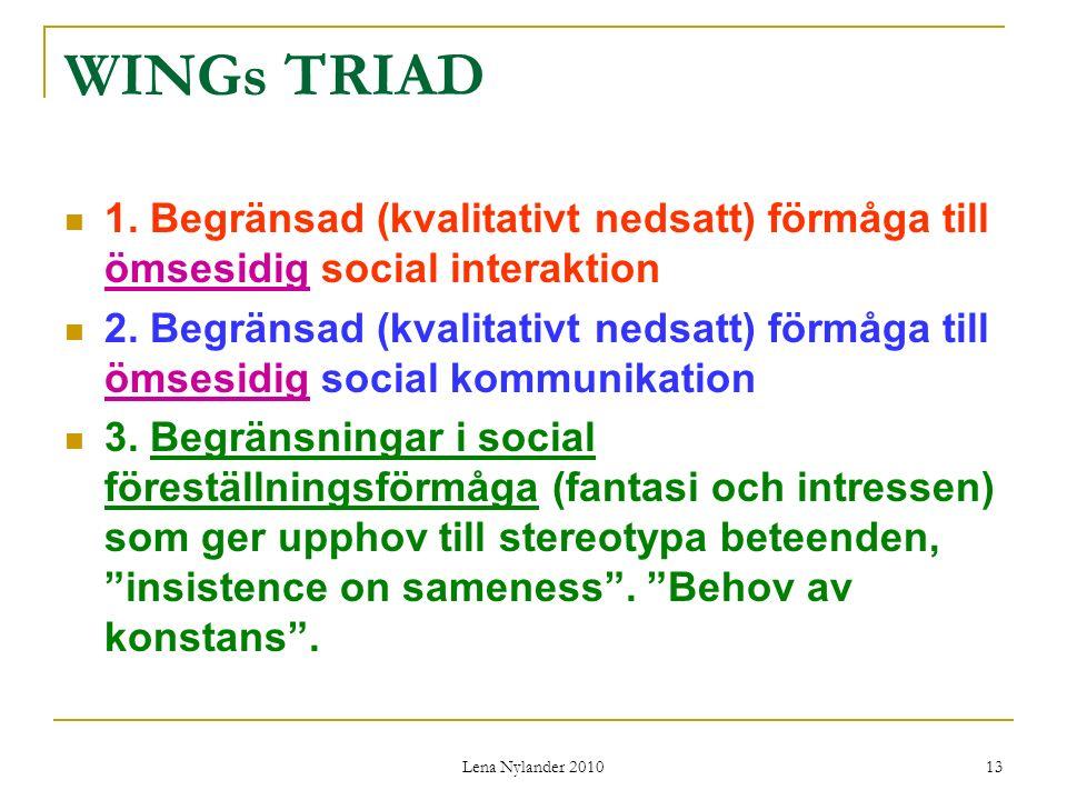 Lena Nylander 2010 13 WINGs TRIAD 1.