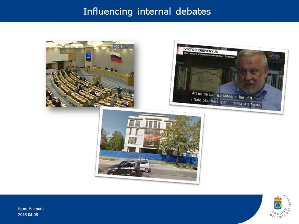 2016-04-06 Bjorn Palmertz Influencing internal debates