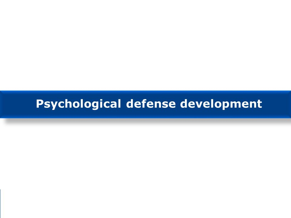 2016-04-06 Bjorn Palmertz Psychological defense development