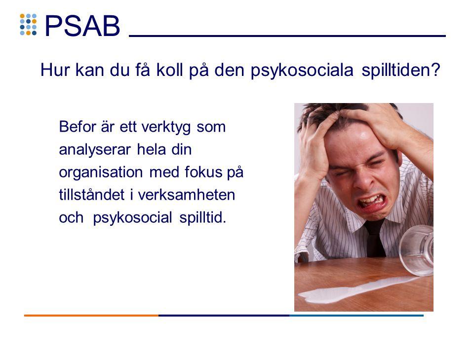 PSAB Hur kan du få koll på den psykosociala spilltiden.