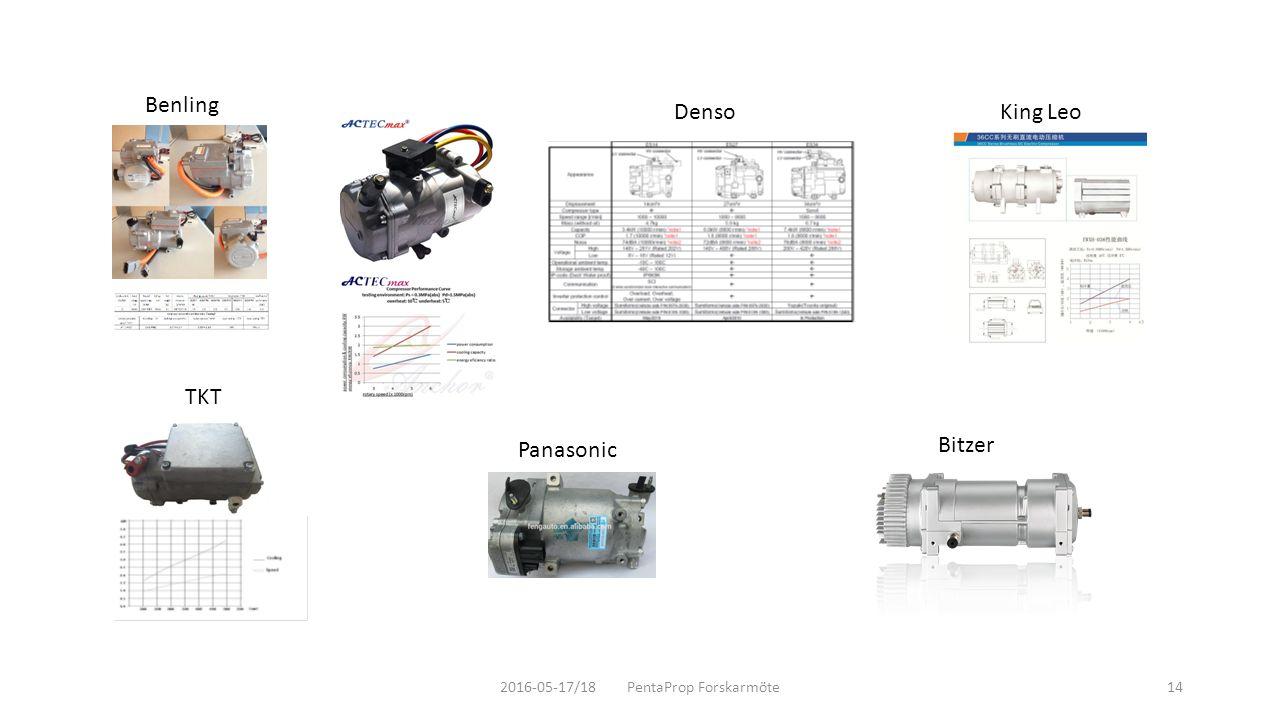 Benling TKT Panasonic King LeoDenso 2016-05-17/18 PentaProp Forskarmöte14 Bitzer