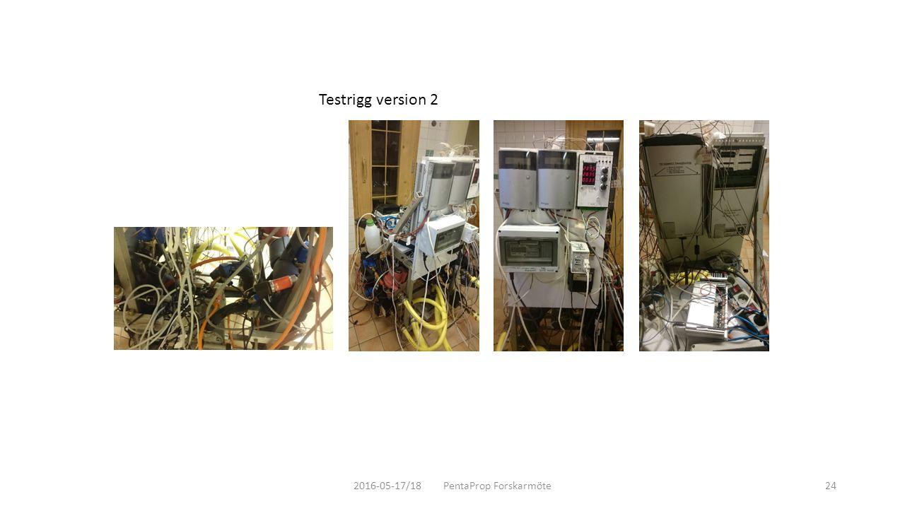2016-05-17/18 PentaProp Forskarmöte24 Testrigg version 2