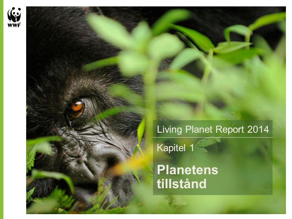 Living Planet Report 2014 Sammanfattning av Världsnaturfonden WWFs Kapitel 1 Planetens tillstånd Living Planet Report 2014 Kapitel 1 Planetens tillstånd Living Planet Report 2014