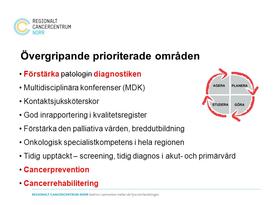 Förstärka diagnostiken Patologi Molekylärgenetisk testning Bild- och funktionsmedicin - PET-CT (ökande behov, både antal och olika former) - MR Diagnosspecifik diagnostik (ex.