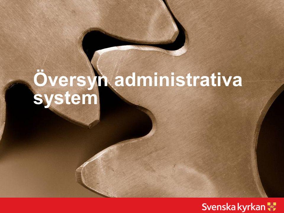 Översyn administrativa system