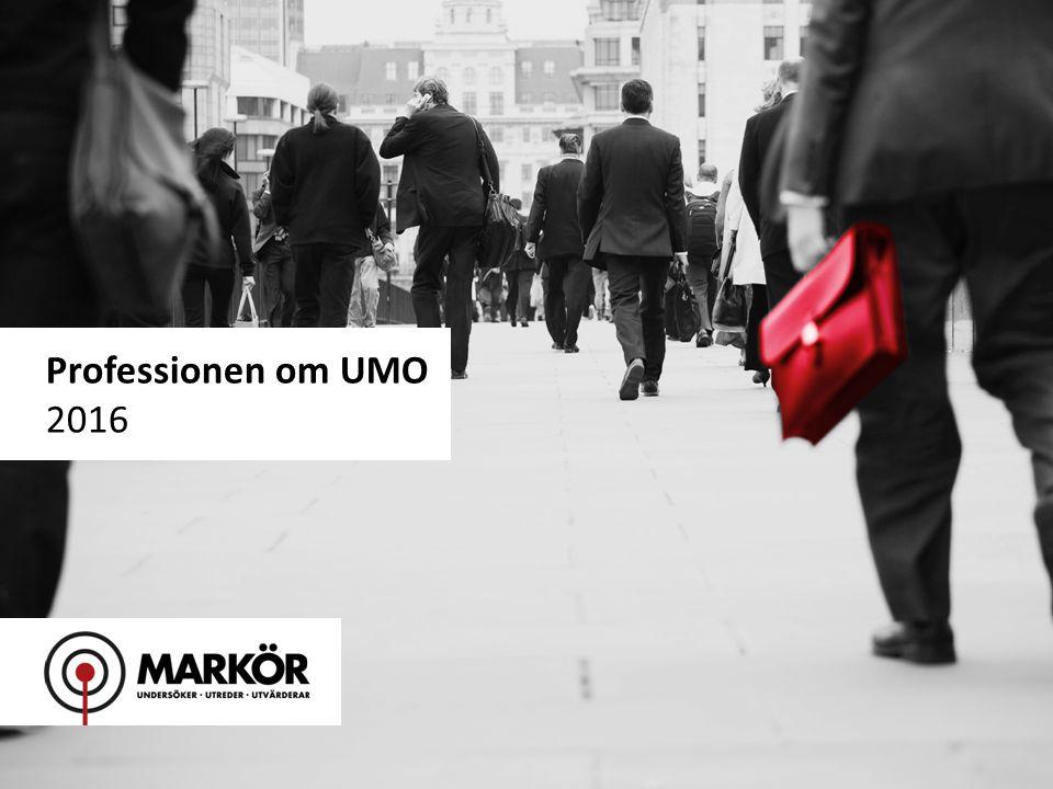 1 Professionen om UMO 2016