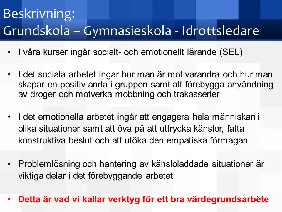 Kontakta oss Stiftelsen Lions Quest International Foundation in Sweden Kontor: Geijersvägen 24 112 44 Stockholm Telefon: 08-744 59 00, anknytning 4 E-post: Info@lions-quest.seInfo@lions-quest.se Hemsida: www.lions-quest.sewww.lions-quest.se Facebook: https://sv-se.facebook.com/LQSverigehttps://sv-se.facebook.com/LQSverige Twitter: https://twitter.com/LQSwedenhttps://twitter.com/LQSweden