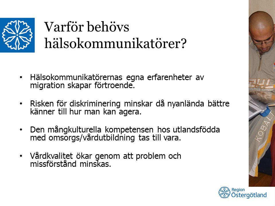 Hälsokommunikatörernas egna erfarenheter av migration skapar förtroende.