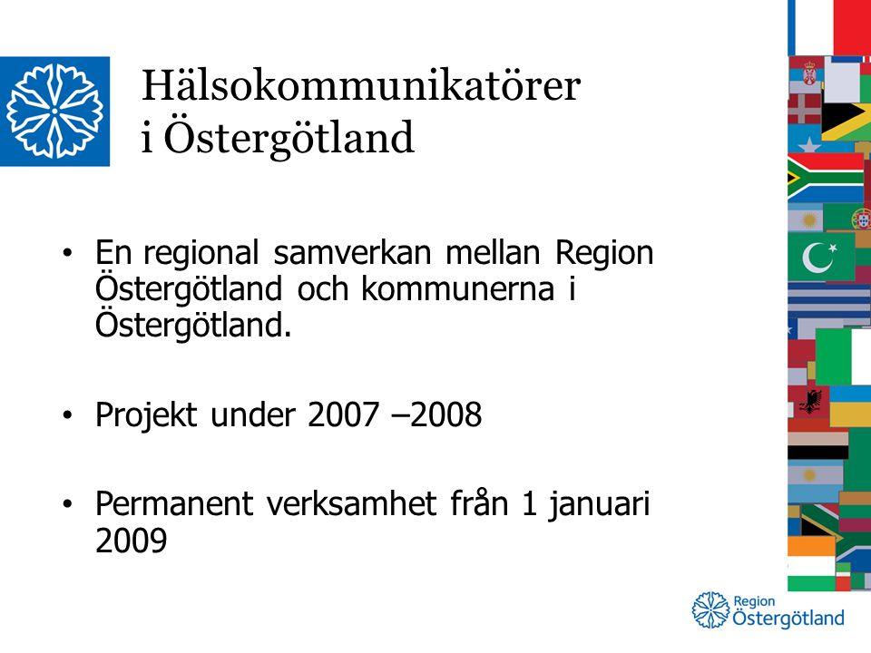 En regional samverkan mellan Region Östergötland och kommunerna i Östergötland.