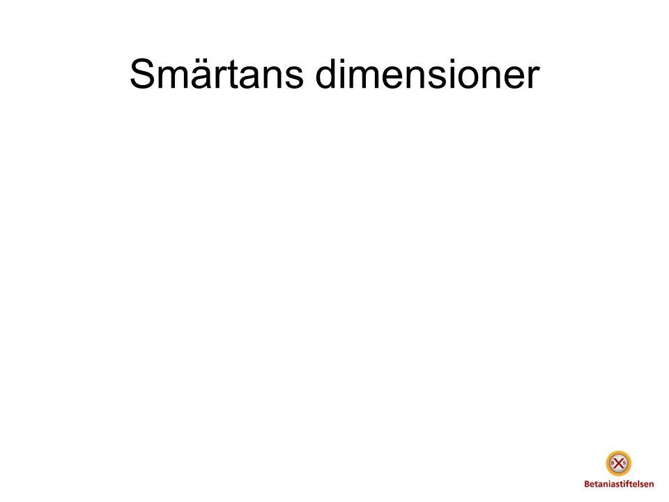 Smärtans dimensioner
