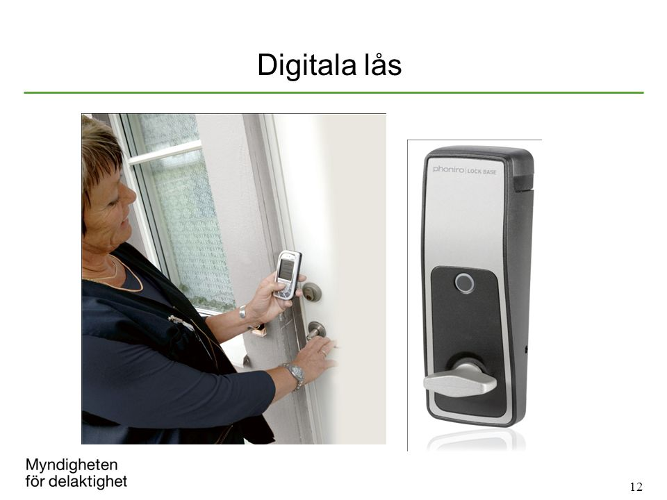 12 Digitala lås
