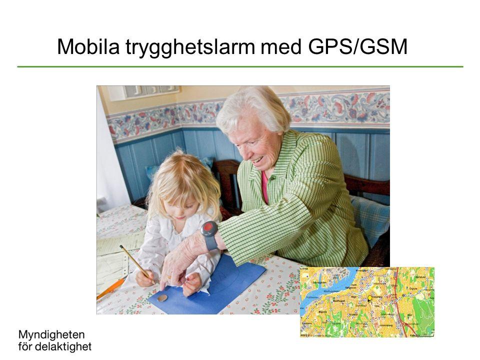 Mobila trygghetslarm med GPS/GSM