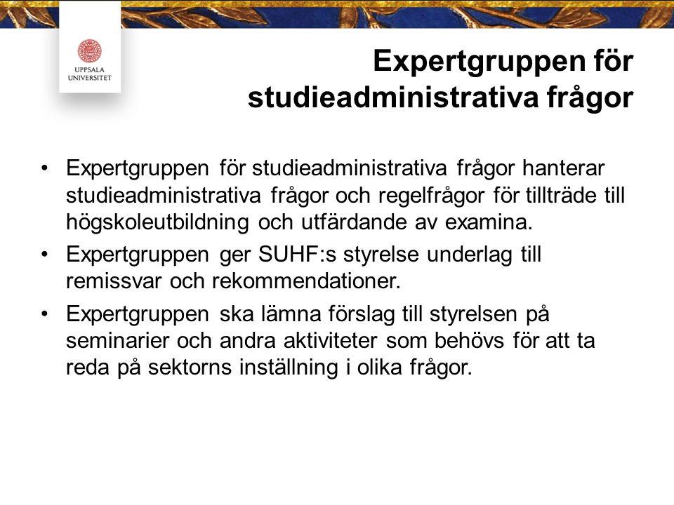 Ledamöter för perioden 2014-01-01 till 2015-12-31 Joakim Malmström, universitetsdirektör, Stockholms universitet, ordförande Cilla Häggkvist, bitr.