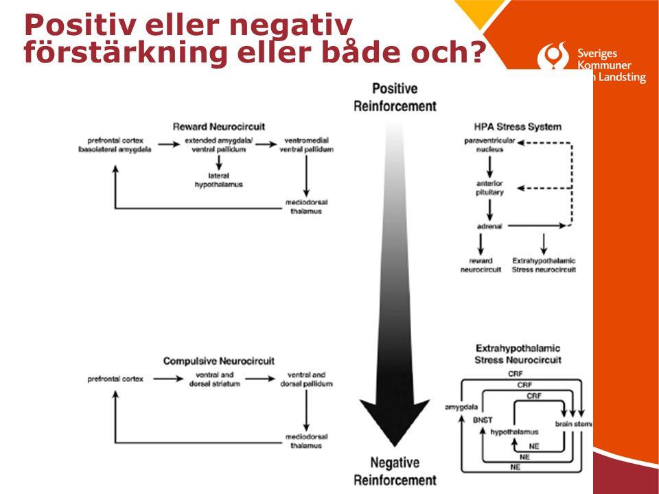 23 Positiv eller negativ förstärkning eller både och