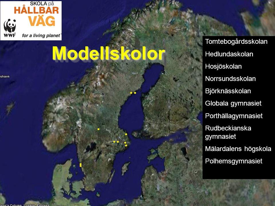 Lärande för hållbar utveckling.Vad har vi. Vad talar för att vi är en bra modellskola.
