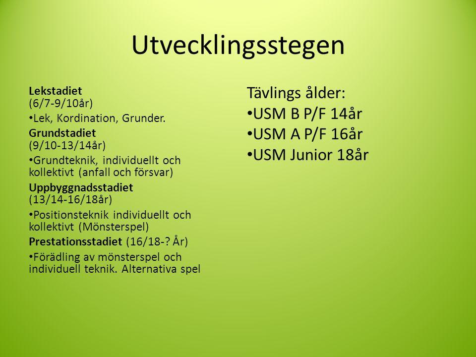 Utvecklingsstegen Lekstadiet (6/7-9/10år) Lek, Kordination, Grunder.