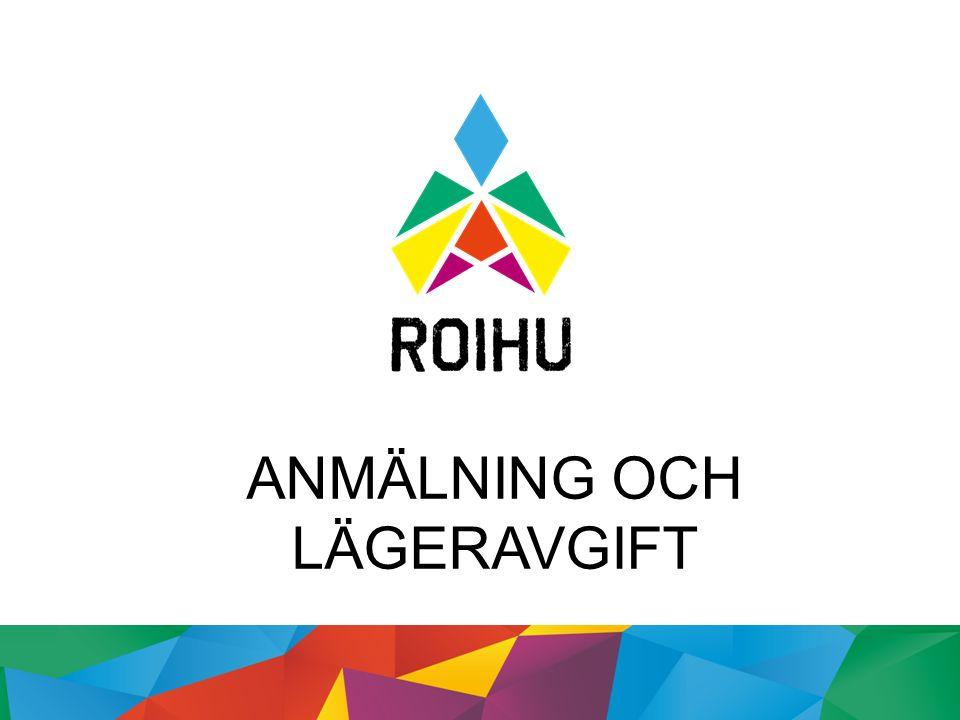 ANMÄLNING TILL LÄGRET 1.11.2015-24.1.2016 Lägret är för spejar-, explorer- och roverscouter samt äldre ledare Medlemsavgiften för 2016 ska vara betald.