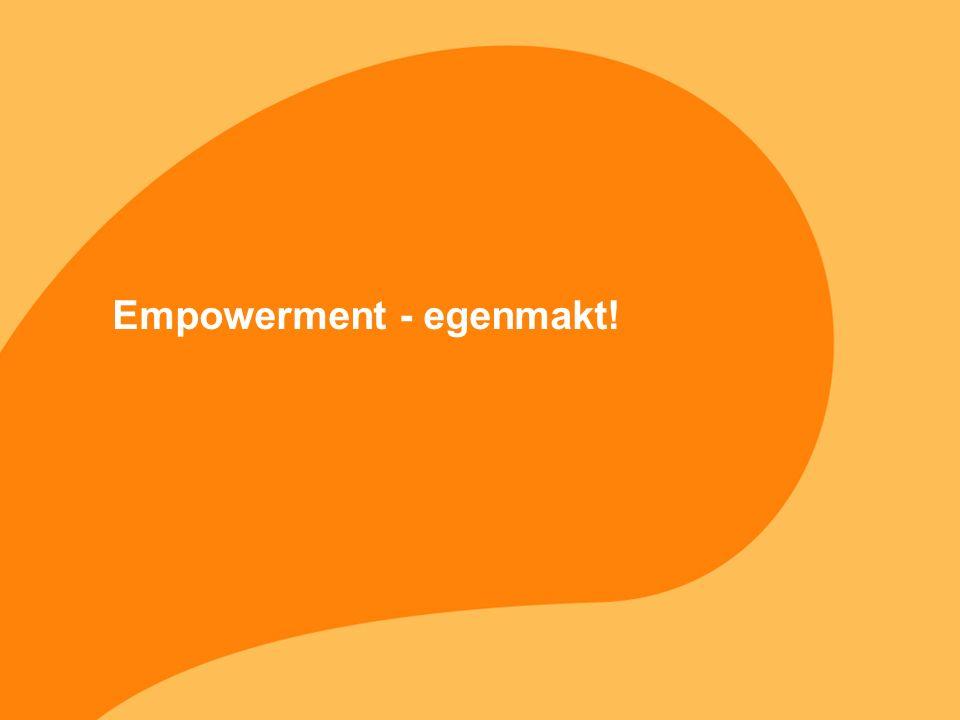 Empowerment - egenmakt!