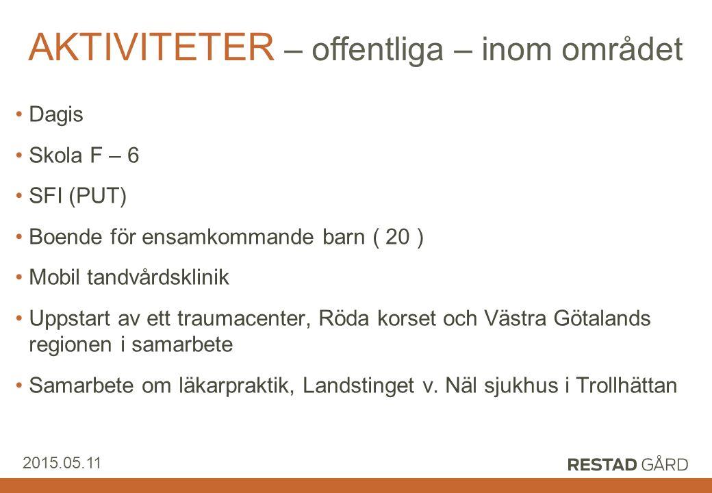 Restad Gård AB 2015.05.11 Konklusion - Stordrift fungerar väl under förutsättning av aktivt samarbete och hög realistisk ambition.