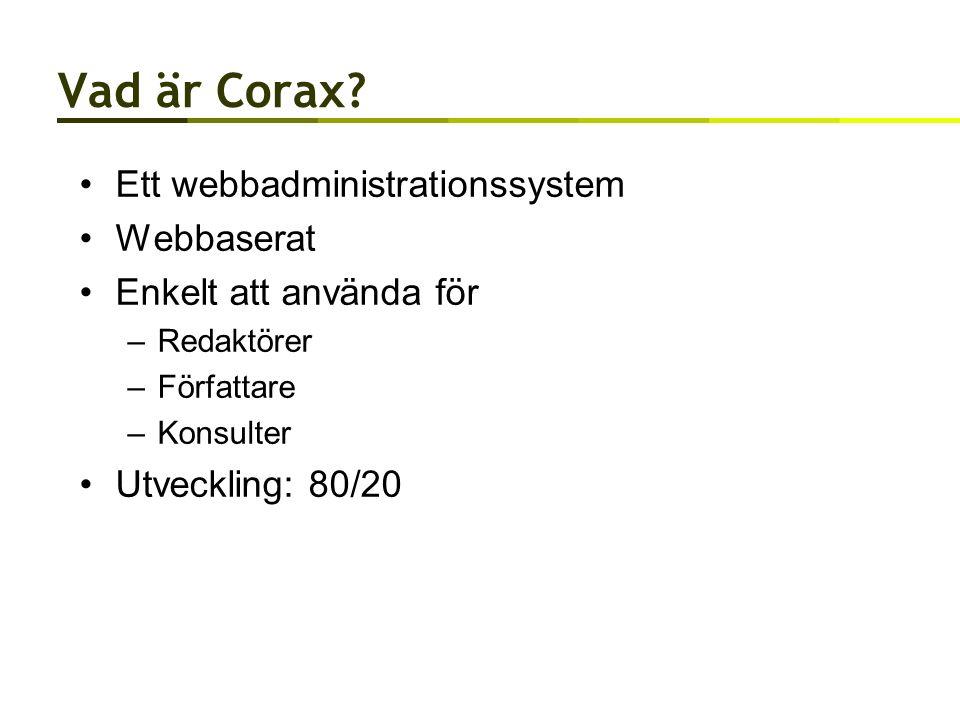 Vad är Corax.