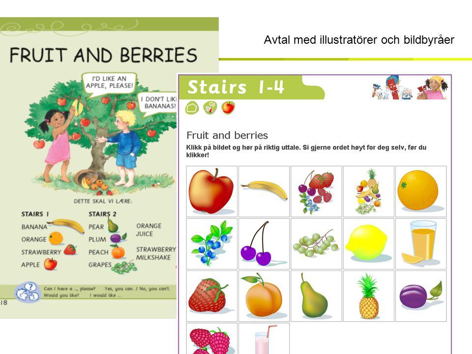 Design / maler Avtal med illustratörer och bildbyråer