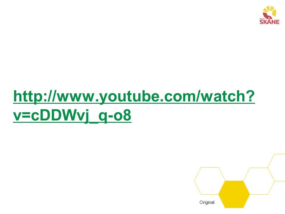http://www.youtube.com/watch? v=cDDWvj_q-o8 Original