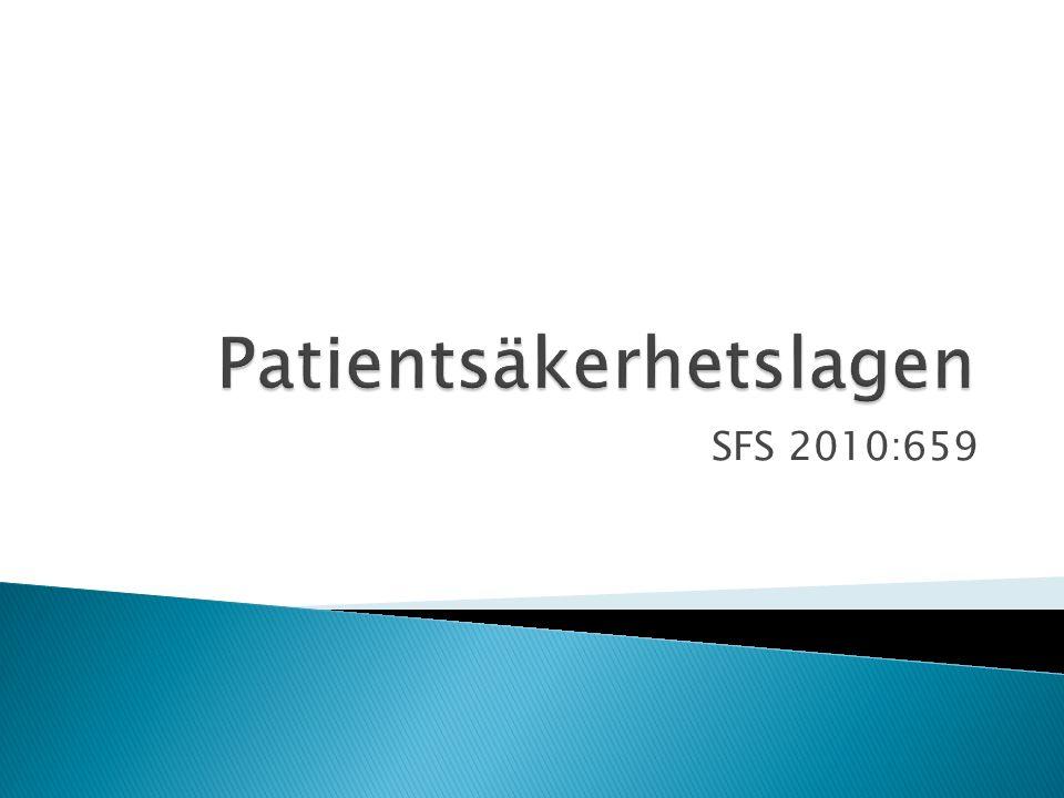  LYHS upphävs och ersätts med en ny patientsäkerhetslag  Varning och erinran försvinner  Patienten klagar till IVO istf HSAN  Patienten får en utökad möjlighet att klaga (ingen precision krävs i anmälan)  Apotekspersonalen kan anmäla misstankar till IVO angående överförskrivning 18Lars Fallberg, Medicinsk rätt 2014
