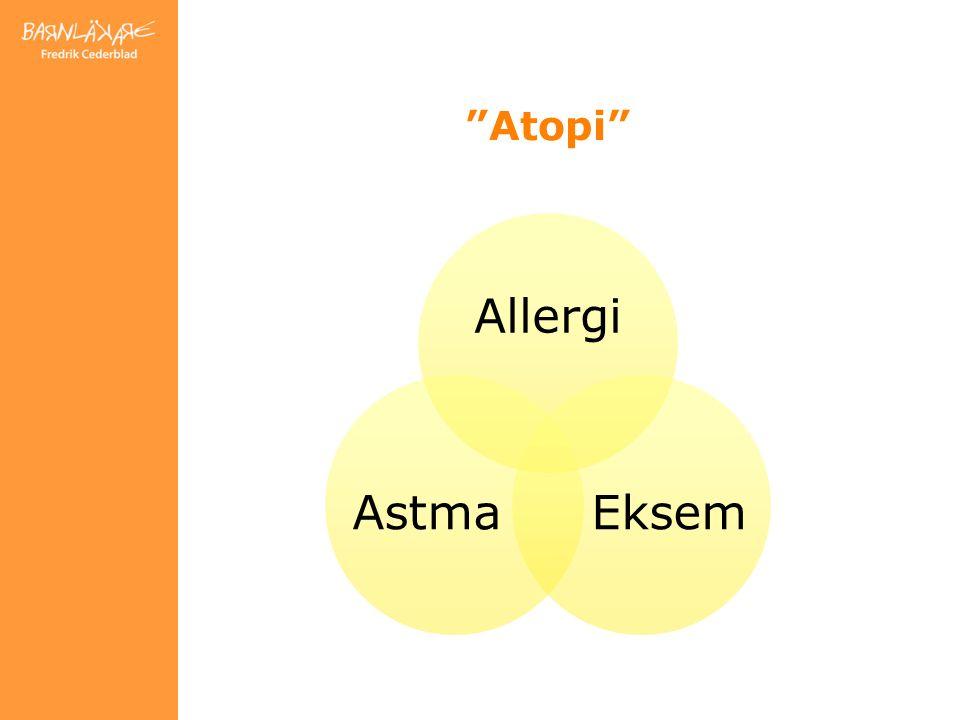Atopi Allergi EksemAstma