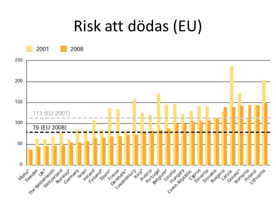 Risk att dödas (EU)