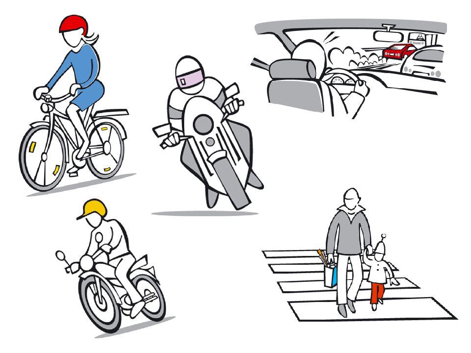 Nollvisionen Ingen ska dödas eller skadas allvarligt i trafiken Mål år 2020: – max 220 dödade Delat ansvar: – systemutformarna – trafikanten