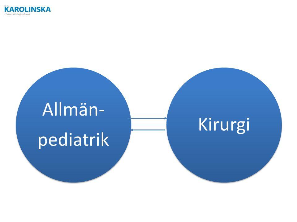 Allmän- pediatrik Kirurgi