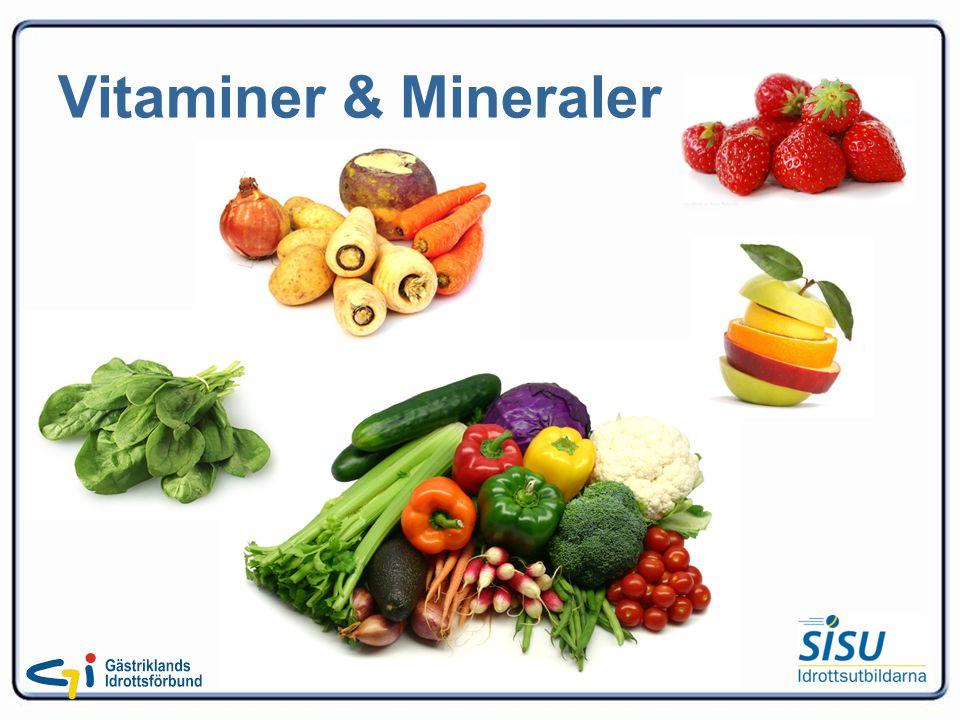 Vitaminer & Mineraler