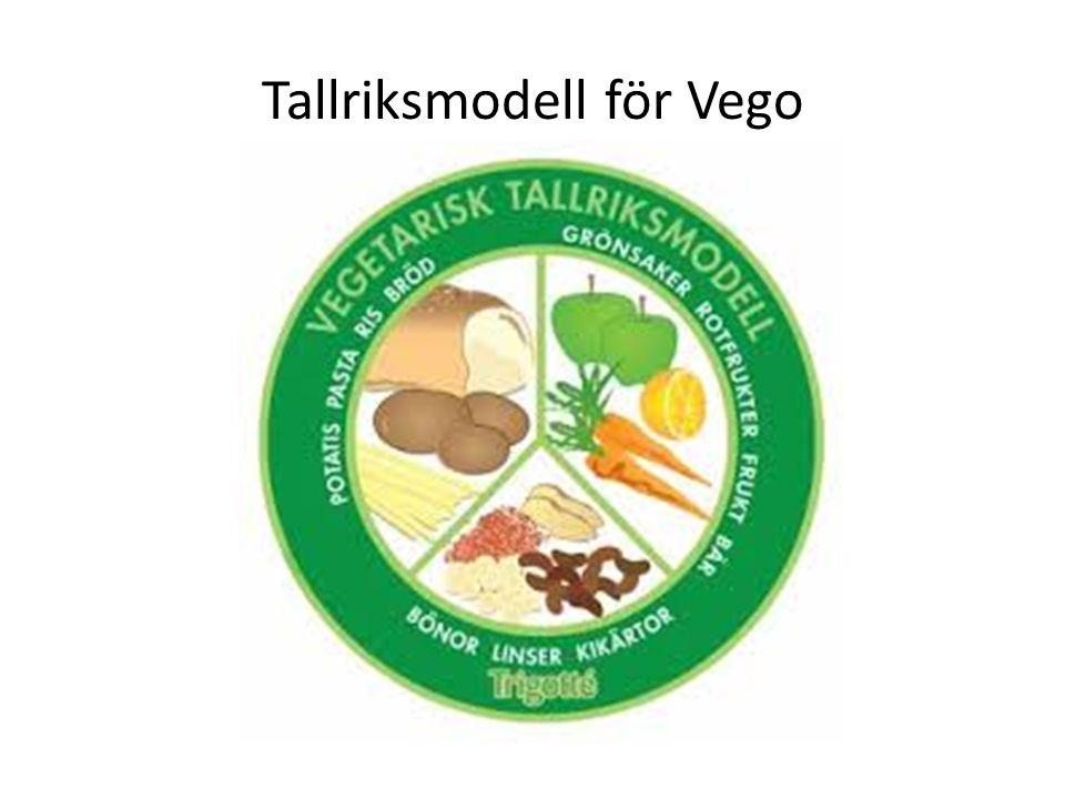 Tallriksmodell för Vego