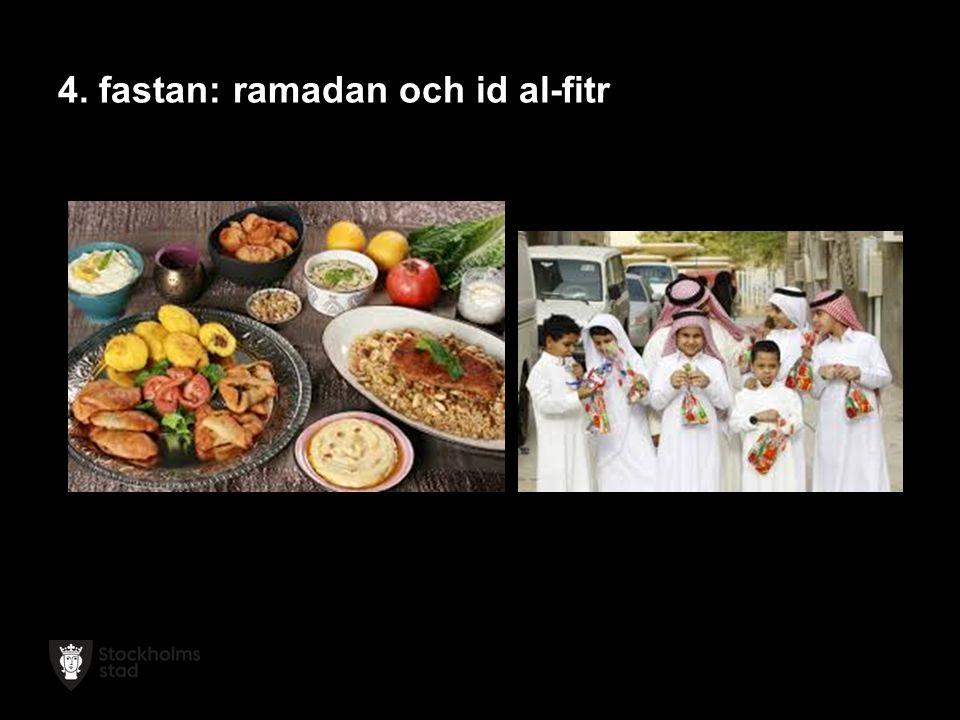 4. fastan: ramadan och id al-fitr