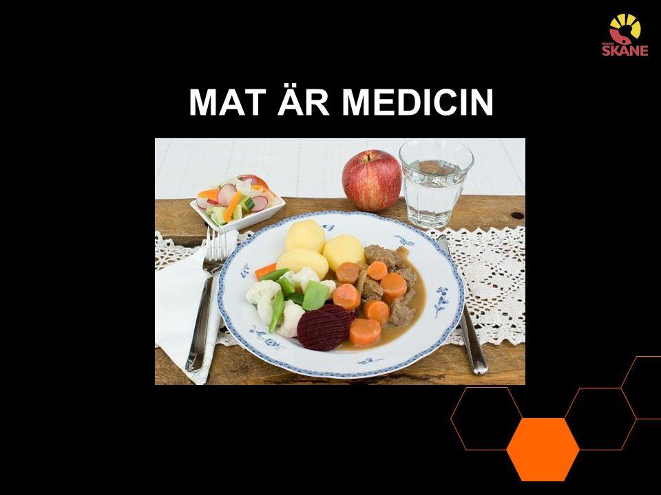 MAT ÄR MEDICIN