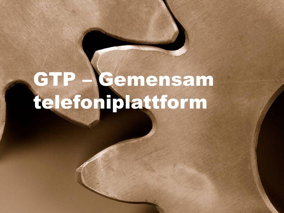 GTP – Gemensam telefoniplattform