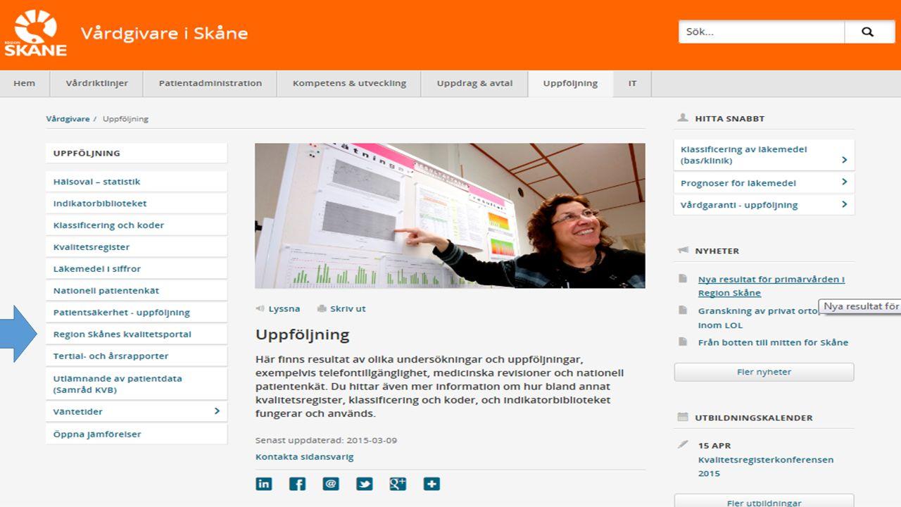 http://vardgivare.skane.se/uppfoljning/