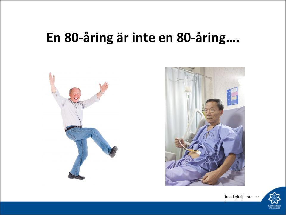 En 80-åring är inte en 80-åring…. freedigitalphotos.ne t