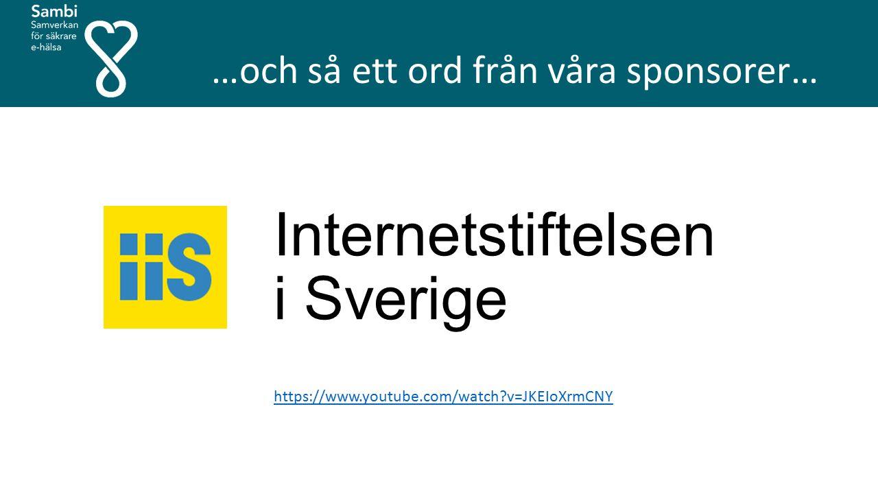 Internetstiftelsen i Sverige https://www.youtube.com/watch v=JKEIoXrmCNY …och så ett ord från våra sponsorer…