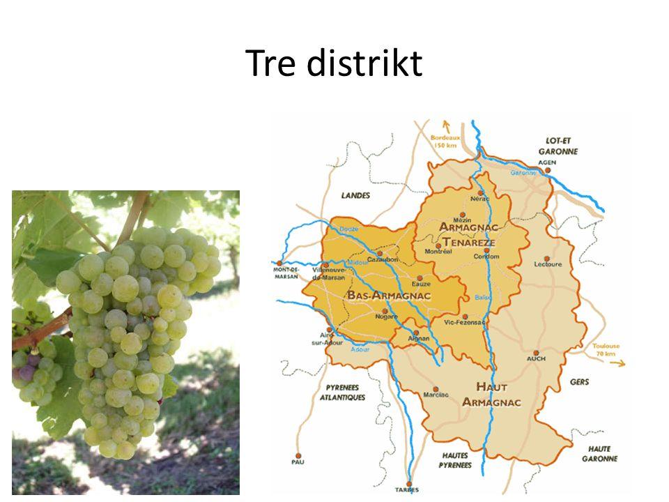Tre distrikt